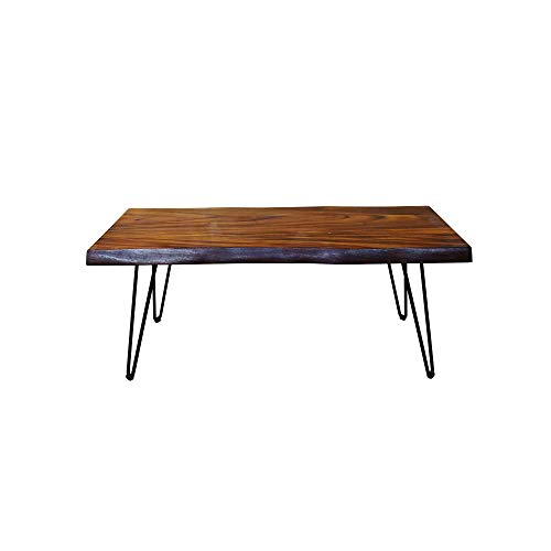 Gresham Live Edge Solid Acacia Wood Coffee Table