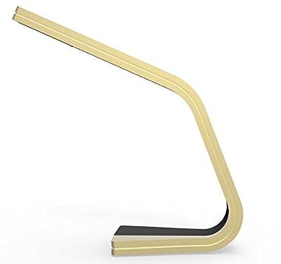 Led Desk Lamp, Lampat Eye-care Dimmable LED Desk Lamp, Energy-Efficient 6 watt table lamp, 3-level Dimmer, Touch-sensitive Control Panel (Black)
