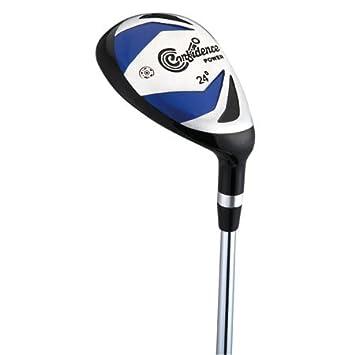 Confidence Golf Power V3 Mens Golf Clubs Set & Stand Bag