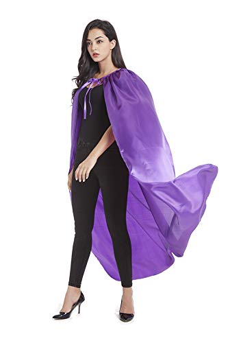 Women Superhero Costumes Diy (Crizcape Adults Capes Womens and Mens DIY Dress up Costume Capes for Party)
