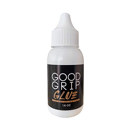 GOOD GRIP GLUE Invisible Bonding Glue for Lace Wigs and Hair pieces |1.6oz| Lace Glue | Wig Glue Extra Moisture Control