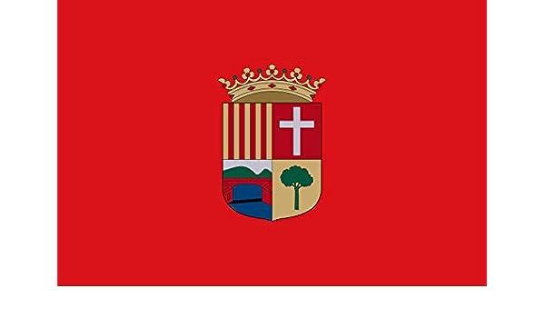 magFlags Bandera Large Alcudia de Crespins Valencia, España   Bandera Paisaje   1.35m²   90x150cm: Amazon.es: Jardín