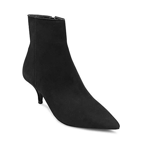 Motivate Nubuck Madden Us Dress Bootie 6 Black 5 Women's Steve qOSIwgw