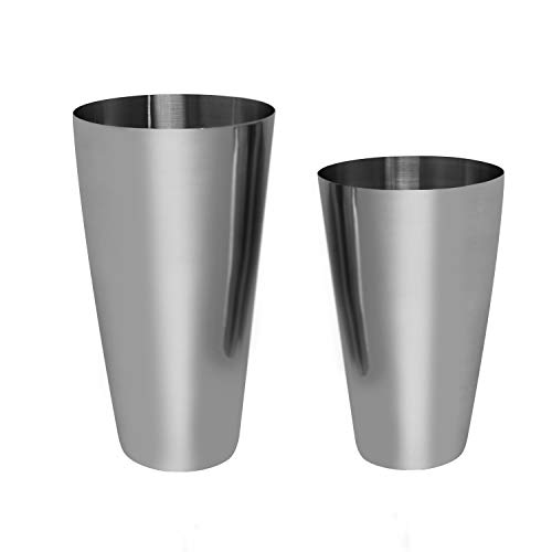 Boston Shaker Cocktail Making Set:18oz Unweighted & 28oz Weighted Professional Bartender Cocktail Shaker Set