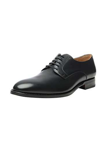 Shoepassion N. 530 Scarpa Da Uomo, Da Lavoro, Da Tempo Libero O Da Sposa Esclusiva. Saldato E Fatto A Mano Dalla Pelle Più Fine. Nero