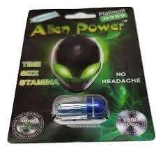 new alien power platinum all natural formula. Black Bedroom Furniture Sets. Home Design Ideas