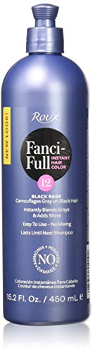 Roux Fanci-Full Rinse, 12 Black Rage, 15.2 Fluid Ounce (Best Color Rinse For Black Hair)