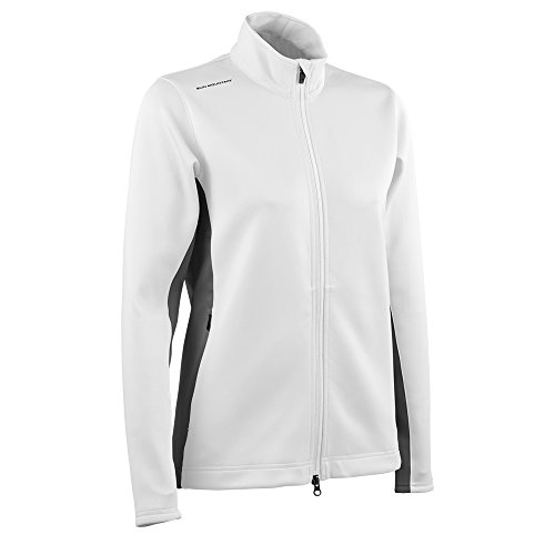 Sun Mountain Women's Thermalflex Jacket - White-Steel (Large) ()