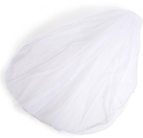 Wilton Rolled Edge Single Layer Bridal Veil