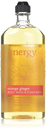 Bath & Body Works Aromatherapy Energy Orange Ginger Body Wash,10 Oz (Pack of 2)
