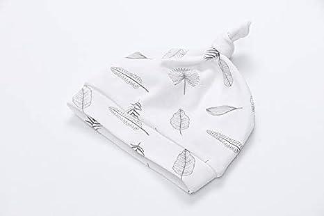 Owlivia Organic Newborn Baby Boy Girl Footed Pajama Gift Set