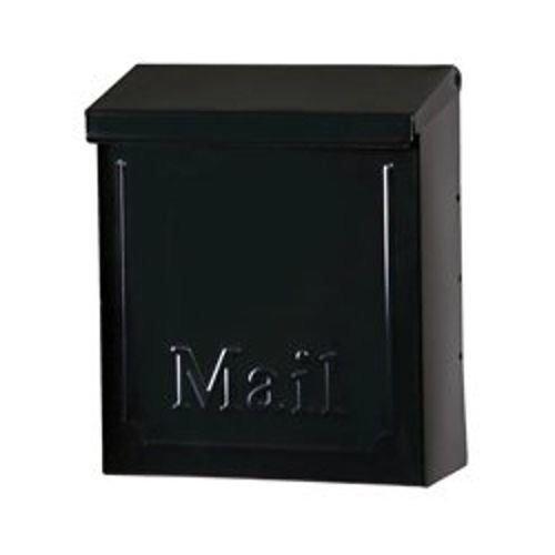 Gibraltar Solar Group THVKB001 Black Townhouse Wall Mount Locking Mailbox