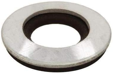 #12 Galvanized Bonded Sealing Washers 4-Pieces