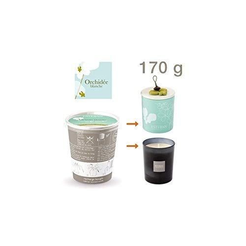 Recharge pour bougie parfumée Orchidée Blanche - Esteban ORB-053