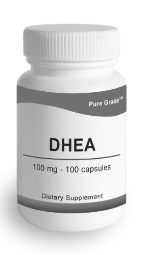 Niveau Pure - DHEA 100mg (déhydroépiandrostérone) - 100 caps