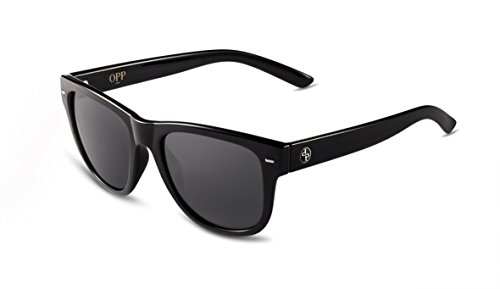 OPP Men & Women Retro Classic Sunglasses Anti-glare Polarized Sunglasses Collection (Black, - Eclipse Sunglasses Polarized