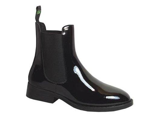 Smoky Mountain Kids Jodphur Patent Leather Riding Boots - Black Child 1.5