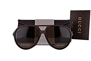 Gucci GG1090/S Sunglasses Brown w/Polarized Bronze Lens B00SP GG 1090/S