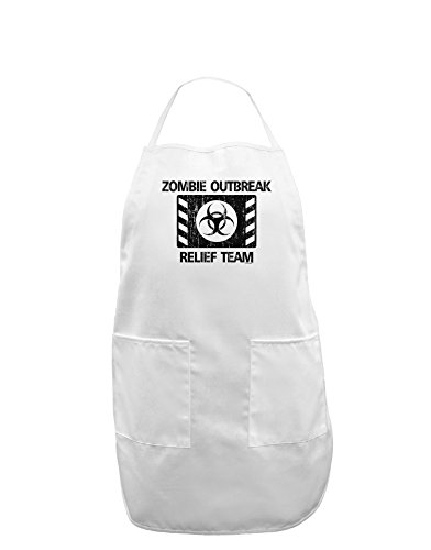 ef Team Biohazard Adult Apron - White - One-Size ()