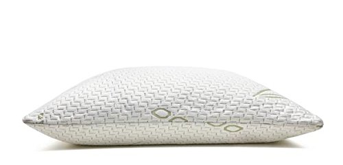 Hotel Comfort Premium Bamboo Memory Foam Pillow Queen Size - Set of 2. Ultra Cool Hypoallergenic Washable Bamboo Cover USA Designed Queen by Hotel Comfort (Image #3)