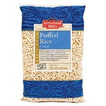 - Arrowhead Mills Puffed Rice Cereal, 6 Oz. Packages (Set of 2)