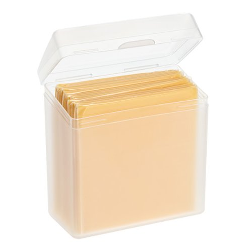 Single Cheese Slices Storage Container