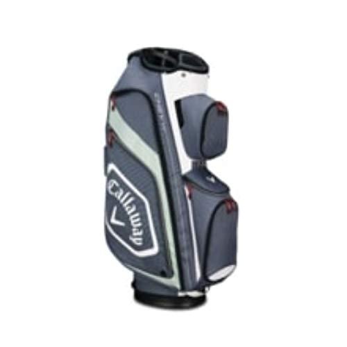Cooler Golf Cart Callaway (Callaway Golf Callaway CART Bag Callaway Chev Org Cart Bag (Cart Bag, Titanium/White/Silver), Titanium/White/Silver)