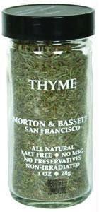 Morton & Bassett Thyme, 1 lb