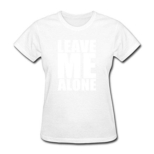 SNOWANG Women's Leave Me Alone T-shirt ()