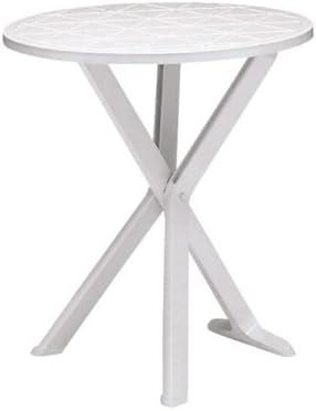 Tavolo Da Giardino Grand Soleil.Grand Soleil Tavolo 65 Cm Brio 6910 B Bianco Amazon It Giardino