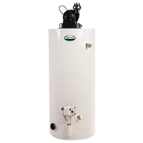 Vent Brass Direct (A.O. Smith GPVX-75L ProMax SL Power Vent 7 Gas Water Heater with Side-Mounted Recirculating Taps, 5 gal)