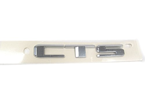 OEM NEW Rear Trunk Deck Lid Emblem Nameplate Chrome 08-10 Cadillac CTS 15263153