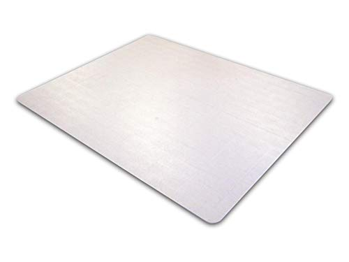 (Cleartex Ultimat Rectangular Chair Mat, Clear Polycarbonate, For Low & Medium Pile Carpets (up to 1/2
