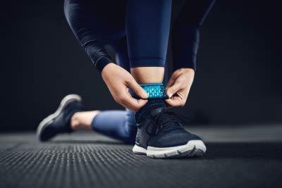 Ossur FormFit Pro Ankle Brace - Breathable Medical Grade Compression Support Sleeve with Cool Vent Technology (Black, Medium, Left) by Ossur (Image #4)