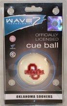 Wave 7 Technologies UOKBBC100 Oklahoma Cue Ball   B0064NQKTM