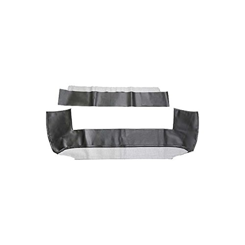 MACs Auto Parts 44-38958 - Mustang Black Convertible Top Well Liner ()