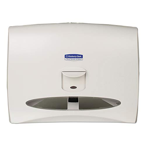 Scott 09505 Personal Seat Toilet Seat Cover Dispenser, 17 1/2 x 2 1/4 x 13 1/4, White