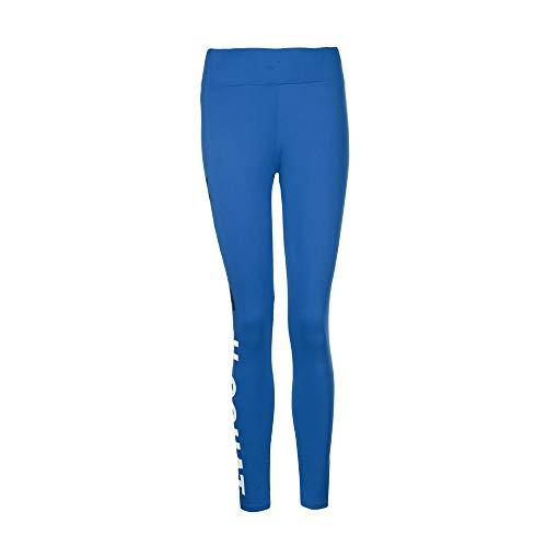 Silk Stocking Margarita - POQOQ Pants Women's Fashion Workout Leggings Fitness Sports Gym Running Yoga XS Blue