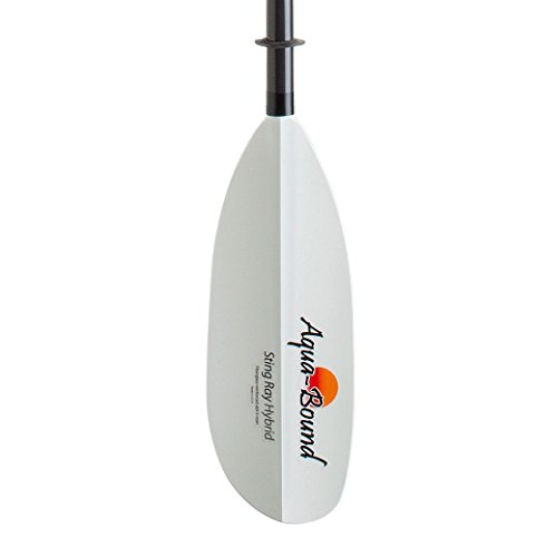 Aquabound Kayak Paddles - Aqua-Bound Sting Ray Hybrid 2-Piece Posi-Lok™ Kayak Paddle