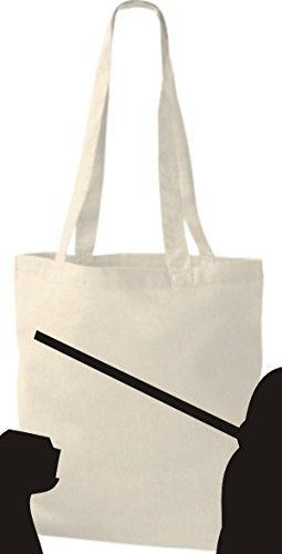 Shirtinstyle - Bolso de tela de algodón para mujer - naturaleza