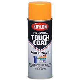 Krylon Industrial Tough Coat Fluorescent Orange - Lot of 12 (Coat Orange Krylon)