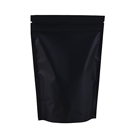 Foil Matte - 100PCS Matte Double-Sided Colored Stand-Up 3oz Bags (12x18cm (4.7x7.1