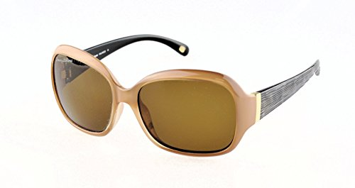 Tommy Bahama The Glow Must Go On TB7032 Sunglasses 219 Caramel Solid Brown Polarized 58 16 - Polarized Women's Sunglasses Tommy Bahama