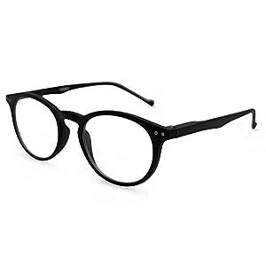 MK Eyeglasses Seattle Reading Glasses (Black, 2.75)