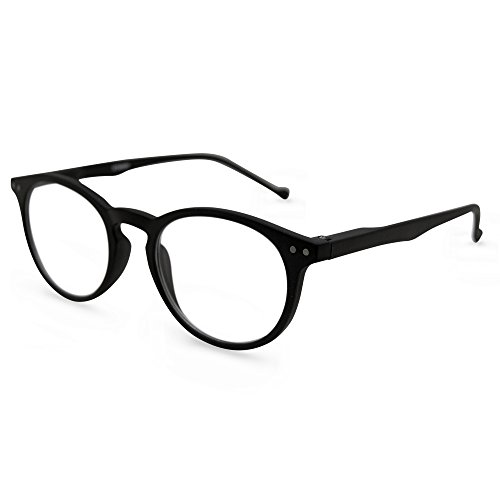In Style Eyes Flexible Readers, Super Comfortable Lightweight Reading Glasses/Black - Bifocal Reading Stylish Glasses