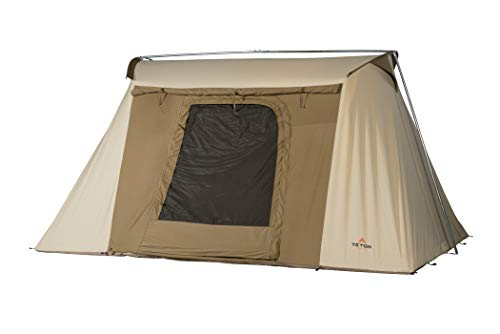 TETON Sports Mesa 14 Canvas Tent; Waterproof, Family Tent; The Right Shelter for Your Base Camps; 6-8 Person Tent