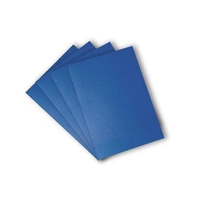 Box 50 Rybond Premium A4 Binding Covers 240gsm Leathergrain Royal Blue