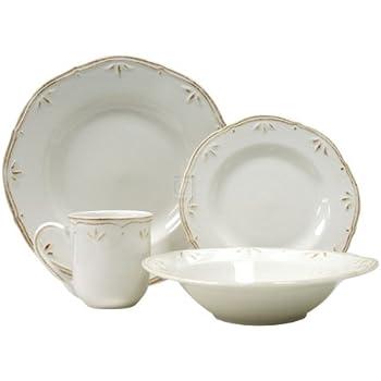 Amazon.com | Thomson Pottery Sicily Blue 16 PC Dinnerware Set ...