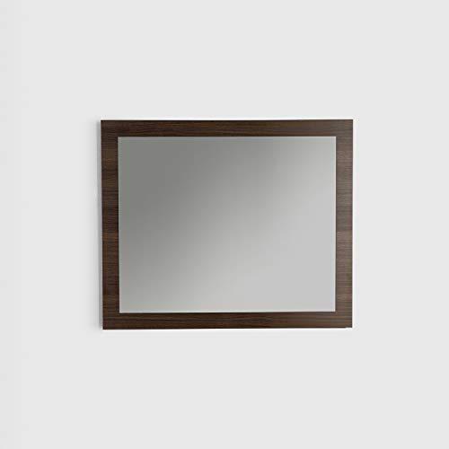 Eviva EVMR-36X30-GOK Sun 36 in. Grey Oak Framed Wall Mirror bathroom -
