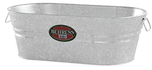 Behrens 3-OV 16-Gallon Oval Steel Tub